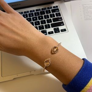 Rose gold givenchy bracelet